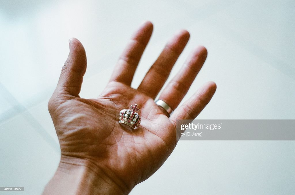 Mrs.Crown on my hand