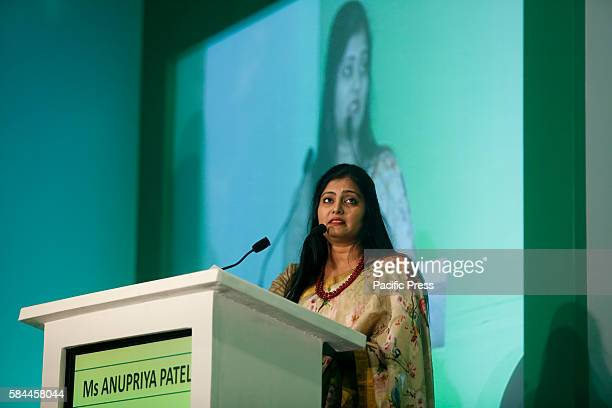 Ms Anupriya Patel Minister of State of Ministry of Health Family Welfare in Govt of India addresses the attendees of World Hepatitis Day event held...