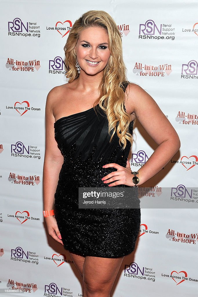 Ms. Denmark Lisa Lents arrives at 'In To Win For Hope' No Limit Texas Hold'em Celebrity Charity Poker Tournament at Commerce Casino on October 6, 2012 in City of Commerce, California.