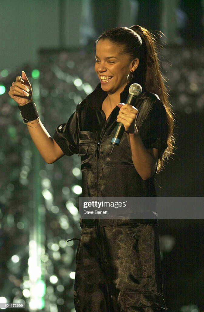 Rehearsals For The Brit Awards 2003