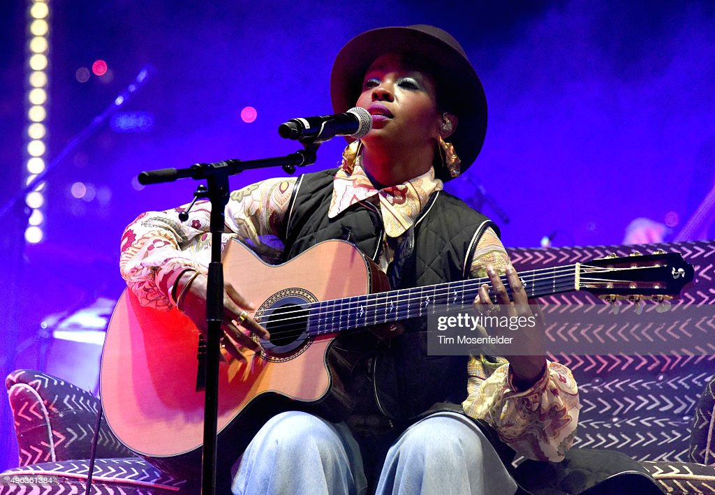 Ms. Lauryn Hill performs during Fun Fun Fun Fest 2015 at Auditorium Shores on November 8, 2015 in Austin, Texas.
