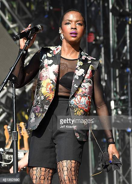 Ms Lauryn Hill performs on Day 2 of the 2014 Electric Forest Festival on June 27 2014 in Rothbury Michigan