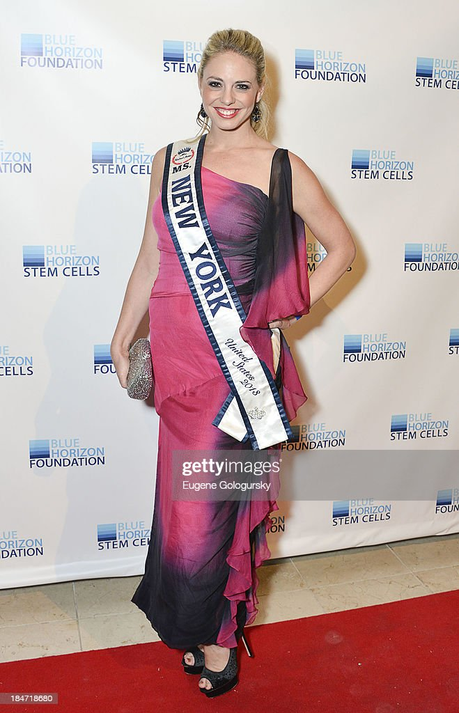 Ms. New York United States 2013 Stephanie Jill Chernick attends the 2nd Annual Blue Horizon Foundation Gala at Guastavino's on October 15, 2013 in New York City.