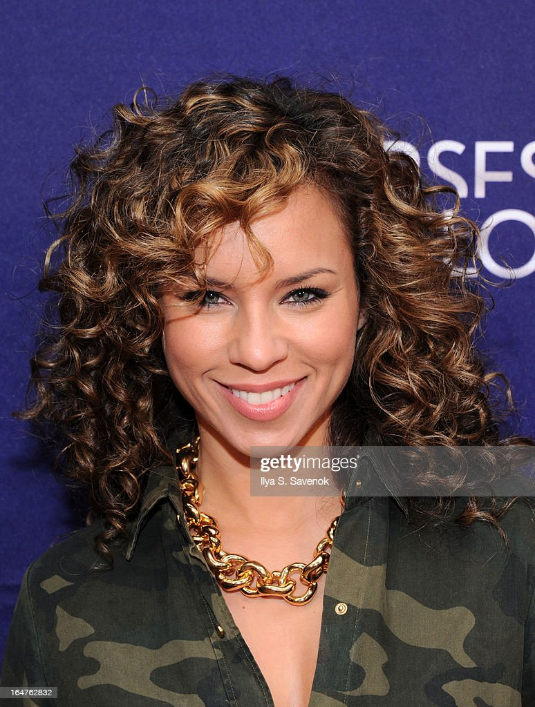 DJ Ms. Nix attends 'Verses And Flow' Live at The Liberty Warehouse on March 27, 2013 in New York City.