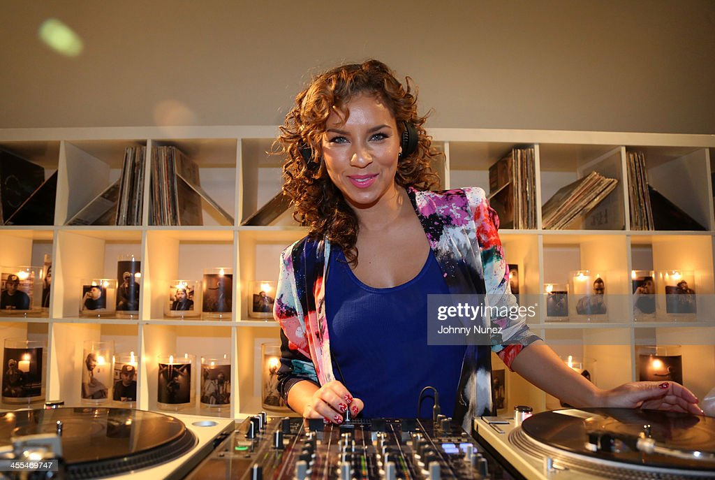 DJ Ms. Nix spins at the Book Of Kings launch event, hosted by T.I. and Iggy Azalea at Pillars 38 on December 11, 2013 in New York City.