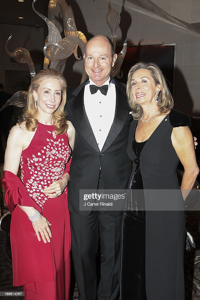 Ms. Sharon Handler Loeb, Prince Dimitri , and France Chretien Desmarais attend the Casita Maria's 2013 Fiesta gala at Mandarin Oriental Hotel on October 22, 2013 in New York City.