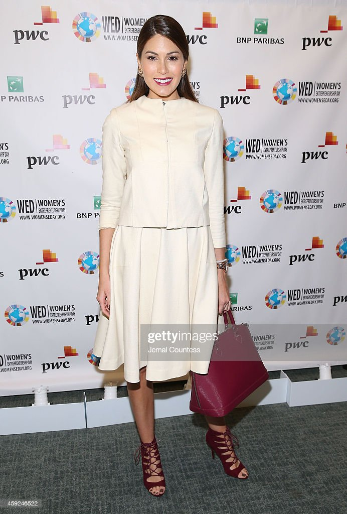 Ms Universe 2014 Gabriela Isler attends the United Nations 2014 Women's Entrepreneurship Day at United Nations on November 19 2014 in New York City