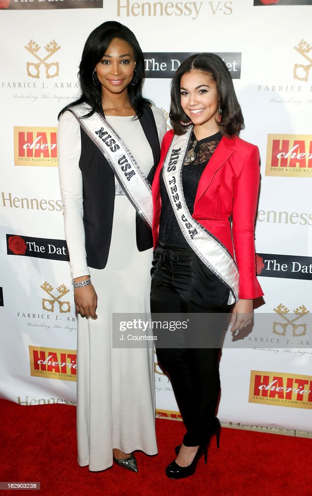 Ms. USA Nana Meriwether and Ms. TEEN USA Logan West attend the 3rd Annual