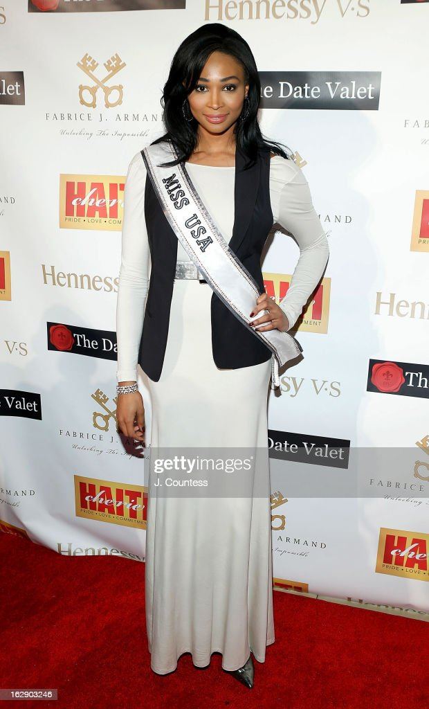 Ms. USA Nana Meriwether attends the 3rd Annual