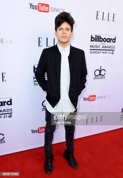 Msuician Rudy Mancuso attends the '2017 Billboard Music Awards' And ELLE Present Women In Music at YouTube Space LA on May 16 2017 in Los Angeles...