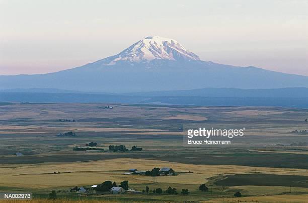 Mt. Adams and Farmlands