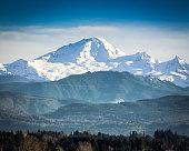Mount Baker.  Located Whatcom county of Washington Us