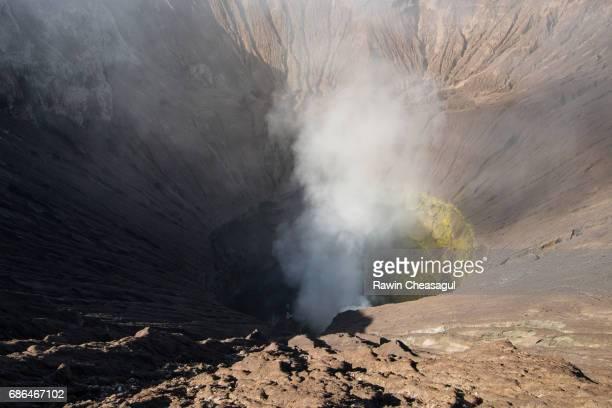 Mt Bromo's Crater