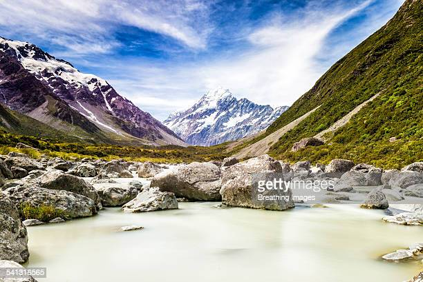 Mt. Cook from the Hooker Valley Track