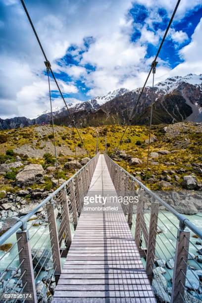 Mt Cook National Park Swing Bridge