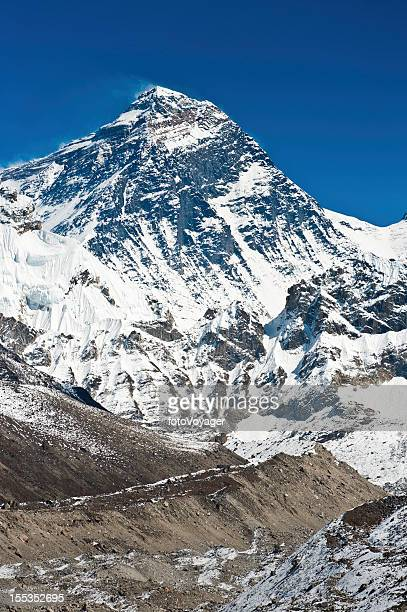Mt Everest 8848m summit Himalayas Nepal