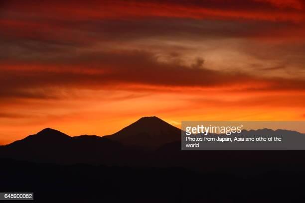 Mt Fuji After Sunset