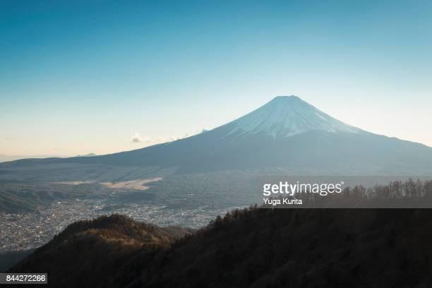 Mt. Fuji from Mitsutoge