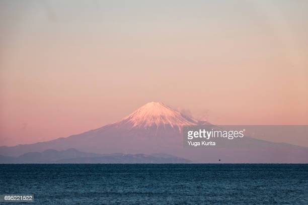 Mt. Fuji over the Sea