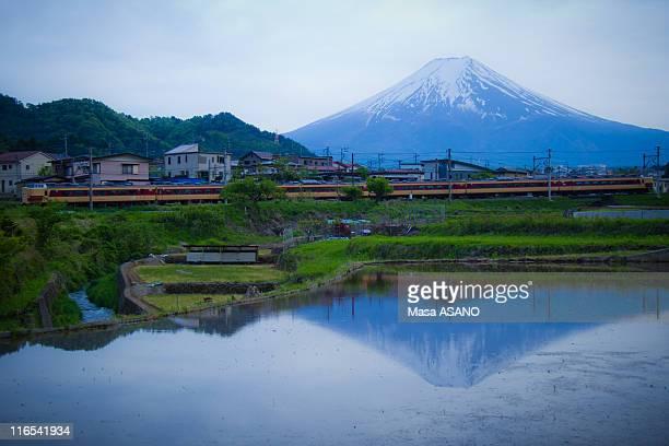 Mt. Fuji reflection
