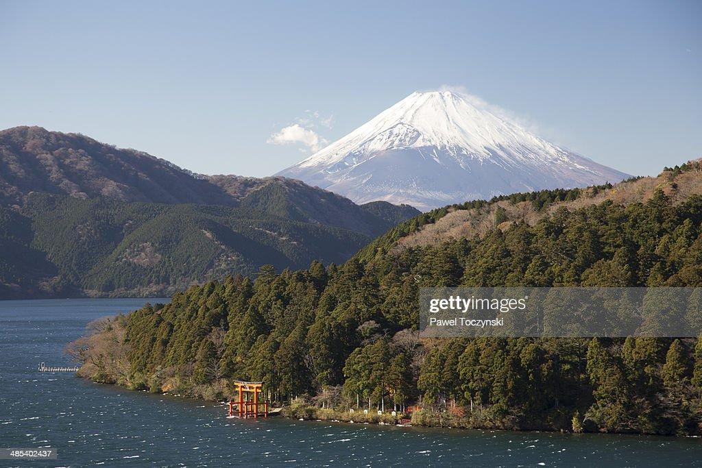 Mt Fuji seen from Hakone
