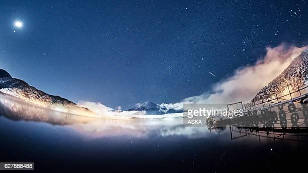 Mt. Fuji under the stars