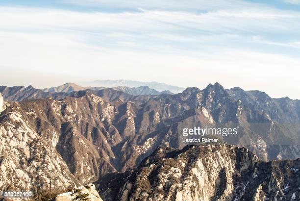 Mt Hua Shan Peaks