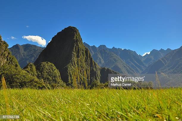 Mt. Huayna Picchu in Machu Picchu
