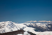 Mt. Kuruma and Hida mountains, Nagano Prefecture, Honshu, Japan