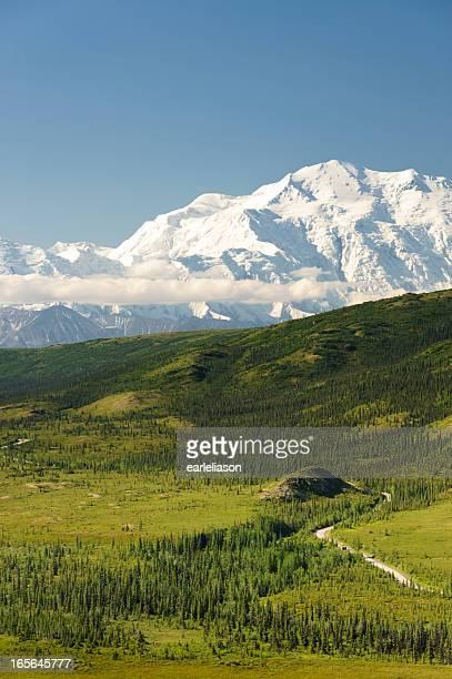 Mt. McKinley on a clear morning