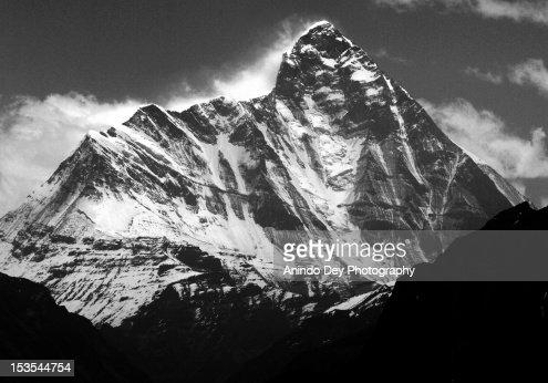 Mt. Nanda Devi (Alt: 7,816 m; 25,643 ft), View fro