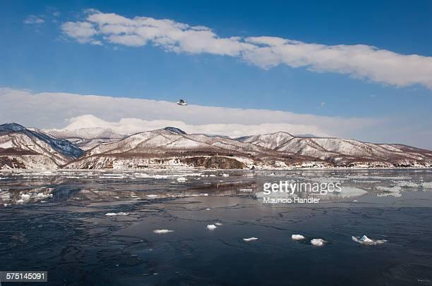 Rausu, Nemuro Strait, Shiretoko Peninsula, Hokkaido Island, Japan.