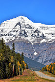 An image of Mt. Robson in Jasper National Park