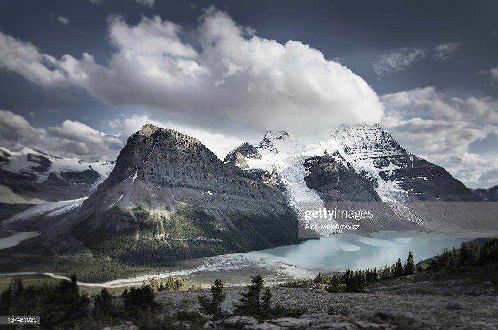 Mt. Robson Provincial Park British Columbia : Stock Photo