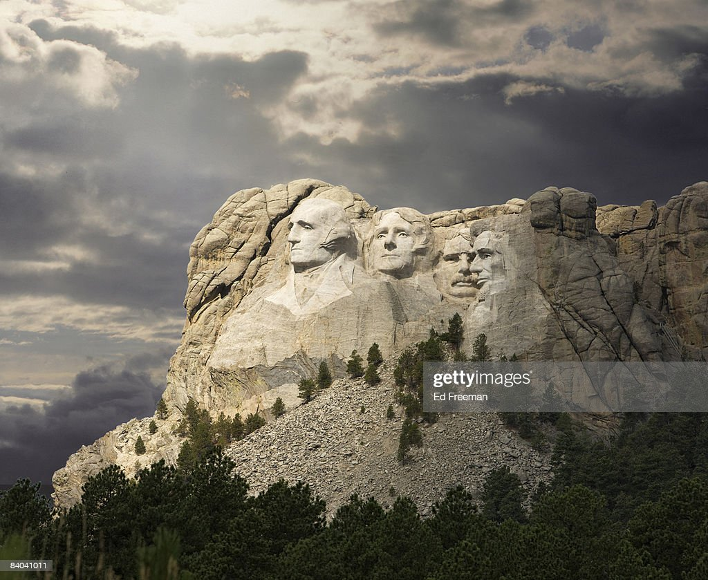 Mt. Rushmore National Memorial : Stock Photo