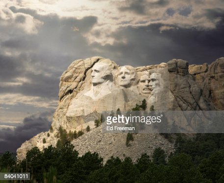 Mt. Rushmore National Memorial : ストックフォト