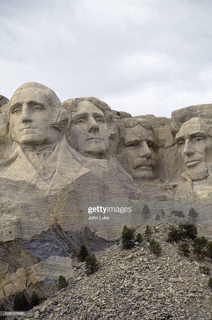 Mt Rushmore, SD : Stock Photo