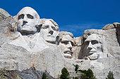 George Washington, Thomas Jefferson, Theodore Roosevelt, Abraham Lincoln, Mt. Rushmore, President, Sculpture, Landmark, South Dakota