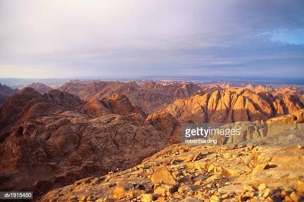 Mt Sinai, Sinai Desert, Egypt, Africa