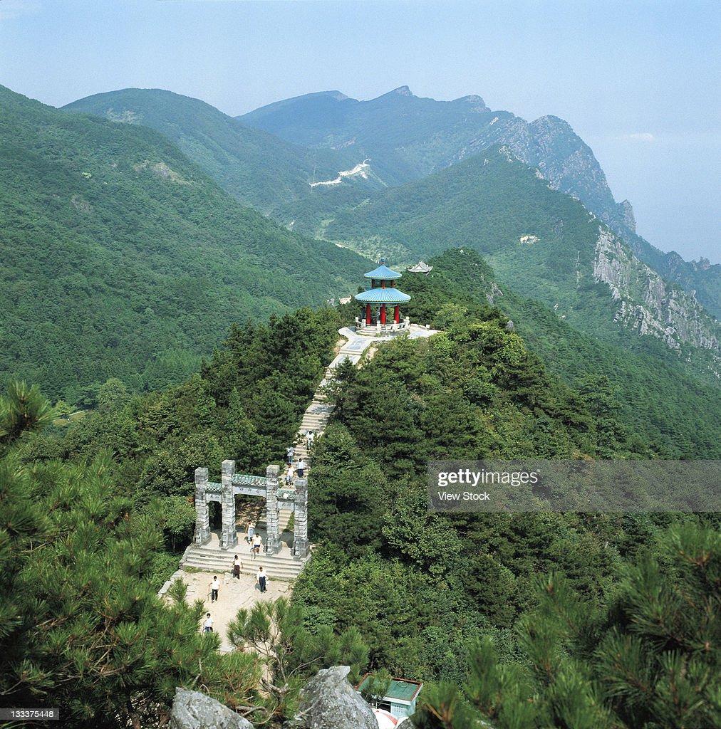 Mt Taishan,Shandong,China