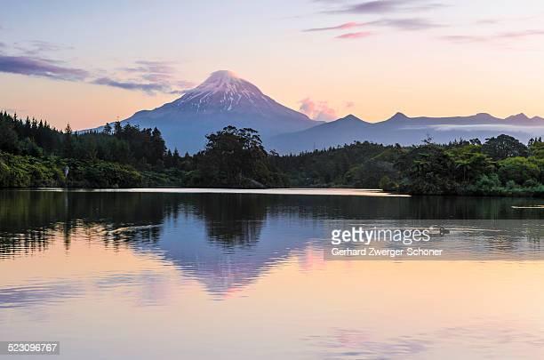 Mt Taranaki, Mt Egmont volcano, North Island, New Zealand, Oceania