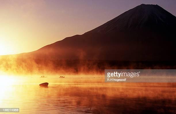 Mt.Fuji and Lake Shojiko