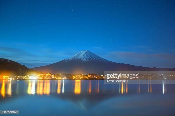 Mt.Fuji At night