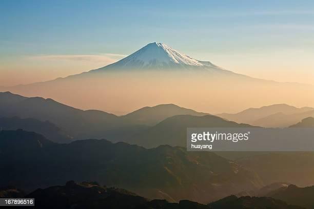 Mt.Fuji Morning mist