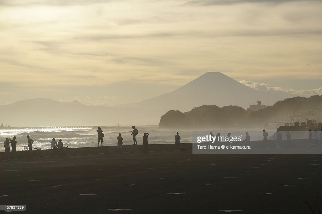 Mt.Fuji viewed from Kamakura