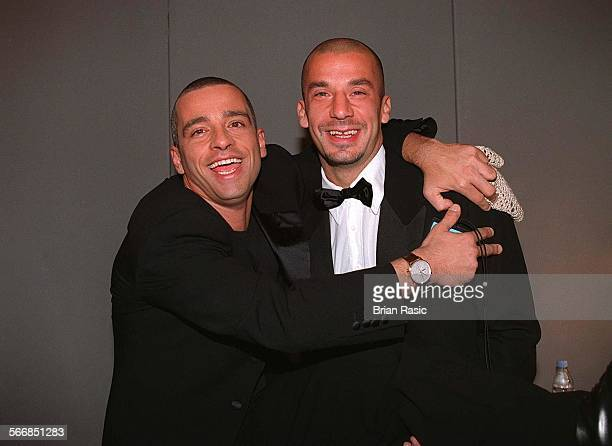 Mtv Europe Music Awards Alexandra Palace London Britain 1996 Eros Ramazotti And Gianluga Vialliat