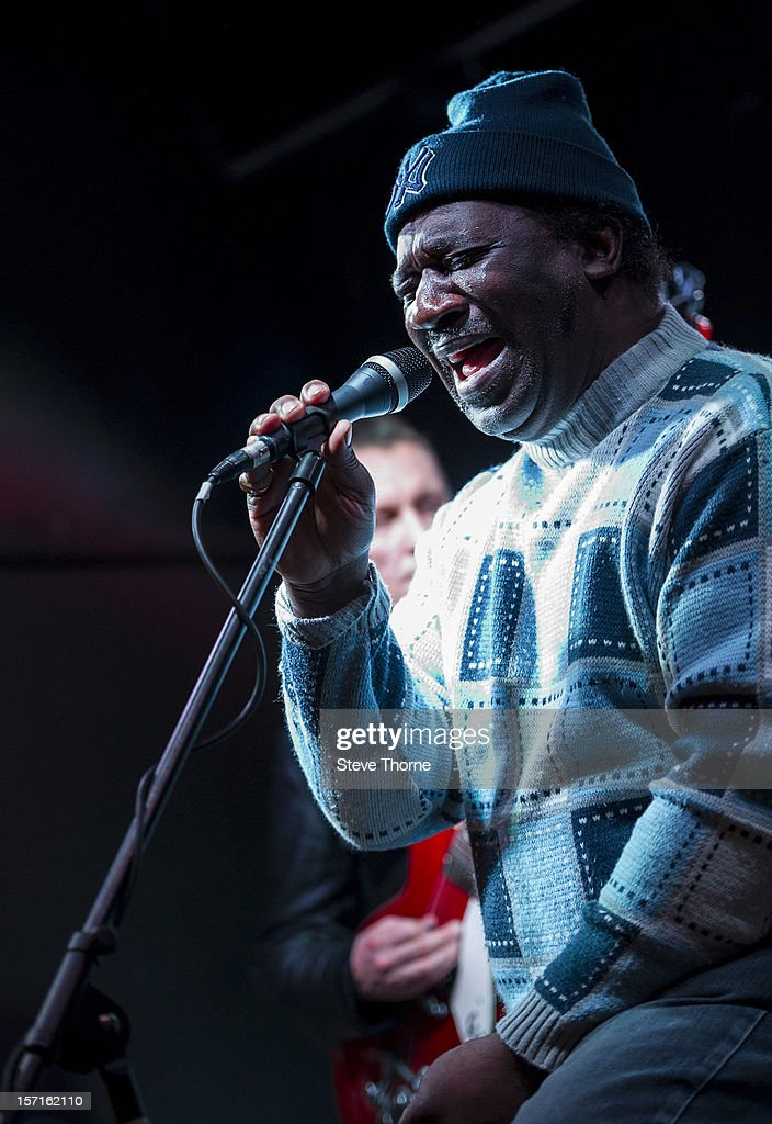 <a gi-track='captionPersonalityLinkClicked' href=/galleries/search?phrase=Mud+Morganfield&family=editorial&specificpeople=7726184 ng-click='$event.stopPropagation()'>Mud Morganfield</a>, the eldest son of legendary Blues musician Muddy Waters, performs exclusively at Flower Pot on November 29, 2012 in Derby, England.