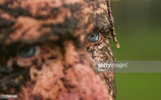 Muddy Rugby Player-eye