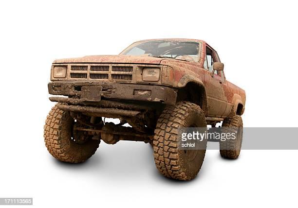 Camion de boue