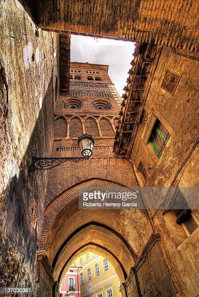 Mudejar tower of cathedral, Spain
